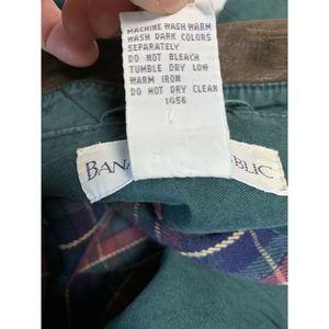 Banana Republic Jackets & Coats - Banana Republic Lined Barn Coat Leather Collar